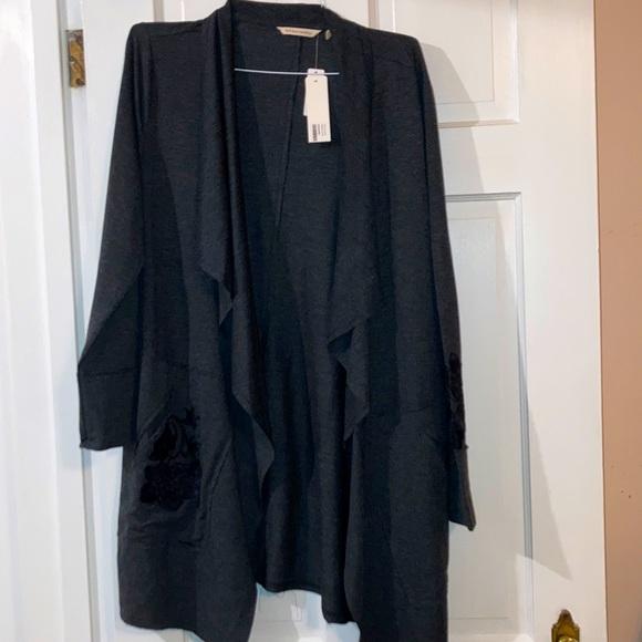 Super soft  drape front cardigan/jacket